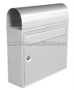 Hold newspaper tin mail box (26 years experiences)