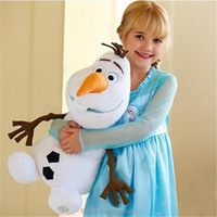 Cartoon Movie Frozen Figure Olaf snowman soft children best birthday gift plush toy