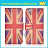 UK flag With shoulder leather phone case for apple,for samsung