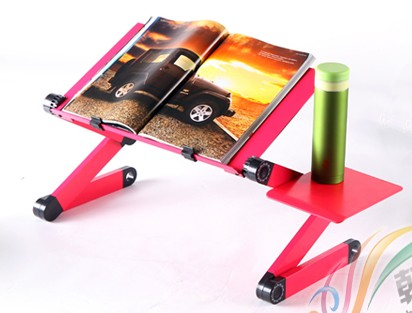 Портативный ноутбук таблица подставка для ноутбука ноутбук стол меса пункт ноутбук ноутбук стол стенд с кулер коврик для мыши из светодиодов свет 42 см * 26 см подставка для ноутбука подставка под ноутбук