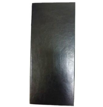 pu leather black 3 fold menu holder for hotel buy plastic document