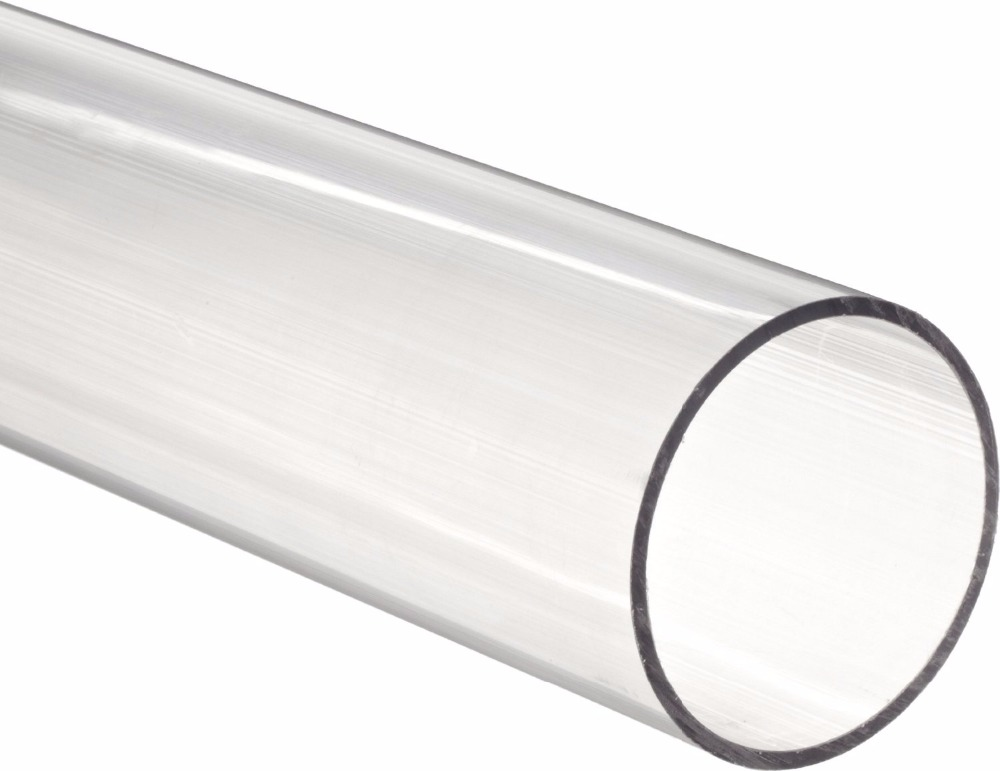 clear acrylic tube pipes
