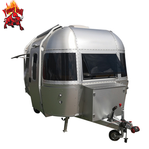 High quality Aluminium Airstream trailer caravan trailer camper for sale