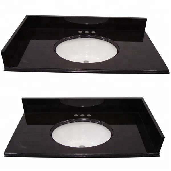 31 X22 Absolute Black Granite Vanity Tops With Sink Buy Absolute Black Vanity Tops Black Vanity Tops With Sink Vanities With Sink Product On Alibaba Com