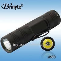 M83 Mini Size High Power Mini Aluminum Flashlight