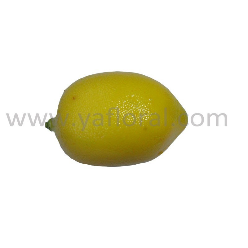 Latest Style Yellow lemon fruit artificial fruit ornaments plastic fruit and vegetable christmas decoration