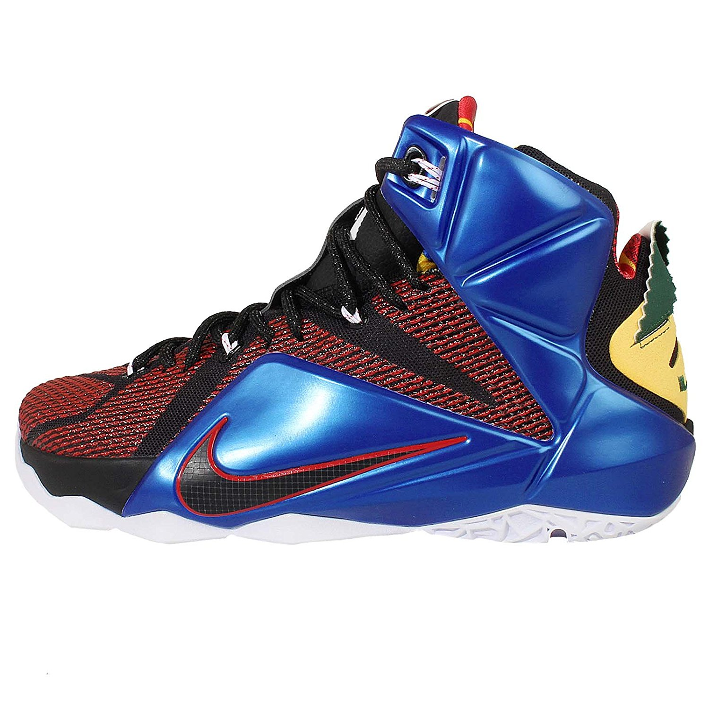 Nike Men's Lebron XII SE EP, What The Lebron-MULTI-COLOR/PHANTOM-MTLC CACAO, 9.5 M US
