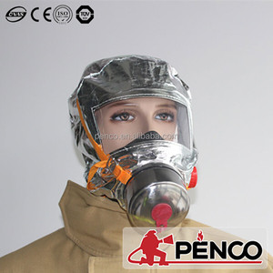 Emergency Escape Hood Oxygen Mask Respirator 60 Minutes Fire Smoke Toxic Filter Gas