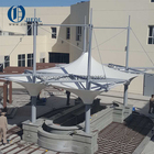 new style tensile fabric roof & PVC tensile membrane structure