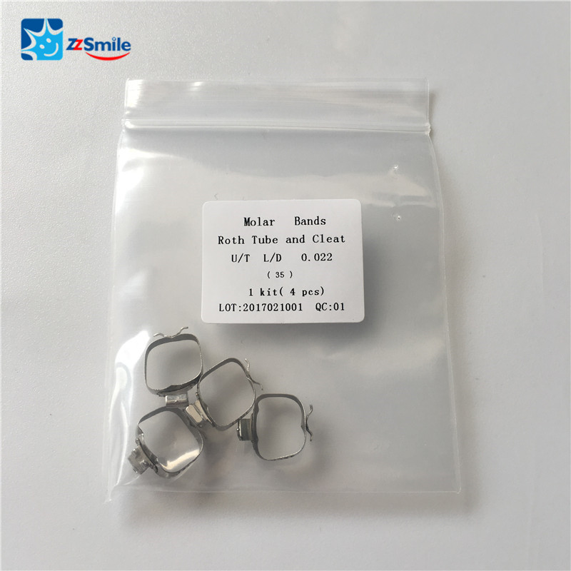 orthodontic supplies dental bands/orthodontic molar bands