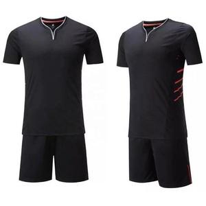 more photos 4df2c bd925 Wholesale thai quality black personalized soccer jersey kit 2017