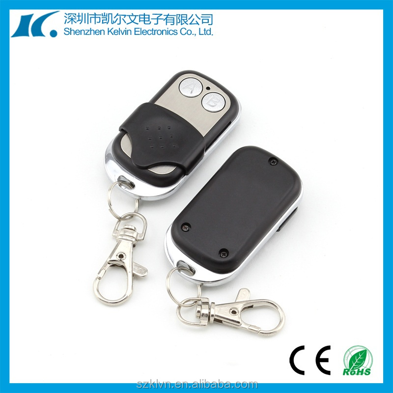 2 Buttons DC12V 315/433.92mhz learning code ev1527 Universal car door opener remote switch KL180-2