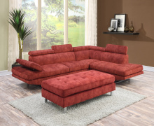 sectional stationary sofa ZOY 9782A