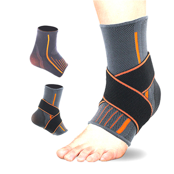Customized Size Compression Elastic Adjustable Ankle Foot Support