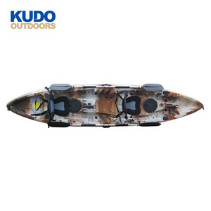 KUDO OUTDOORS 2019 New Design CustomizedColor Three Persons Sit On Top Fishing Kayak