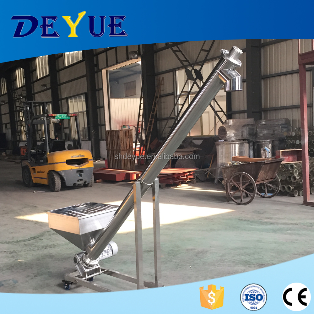 Most Popular Food Powder Flexible Screw Conveyor in China