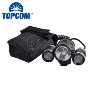LED Bicycle Light Rechargeable Bike Headlight Shakeproof Mountain Bicycle Front Light