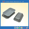 7g Rectangular disposable aluminum foil food container for inflight catering food tray