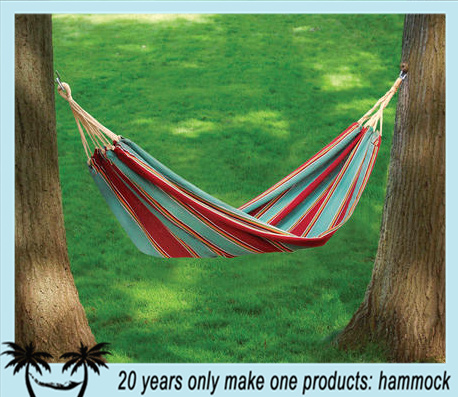 outdoor canvas cotton free standing hammock holder with canopy swing