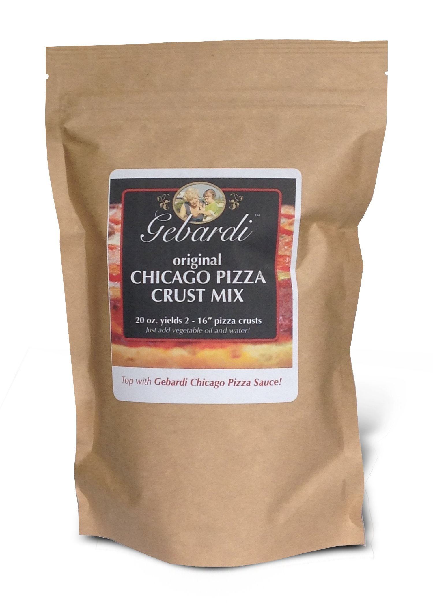 Gebardi Original Chicago Pizza Crust Mix, 20 oz.