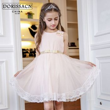 01eaf24c230 green free clothes baby short puffy cocktail dresses comfortable kids  summer wear maxi dress dropship