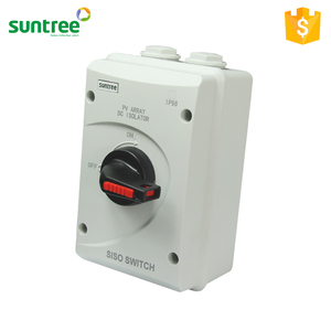 Suntree IP66 PV DC Isolator Switch 1000V 32A 25A 16A Disconnector