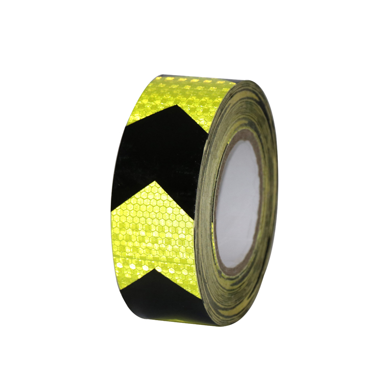 Roadway Safety Shop For Cheap 5cm*45m Self-adhesive Pvc Reflective Warning Safety Tape Waterproof Reflective Sticker Professional Design Reflective Material