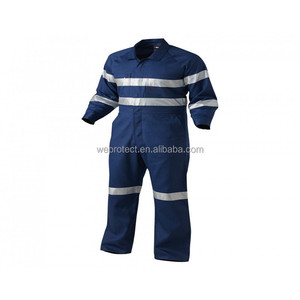 Summer Use Lightweight Reflective Working Coveralls