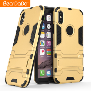 Wholesale high quality TPU PC armor luxury mobile cell phone case cover shell,kickstand back cover