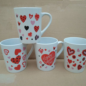 stocks porcelain valentine coffee mug cup wholesale