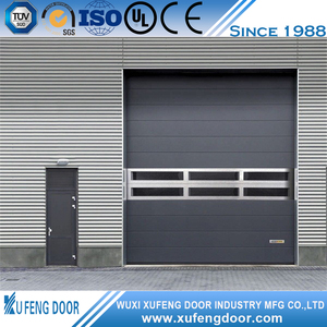 High Speed Spiral Roller Shutter Door With Hard Metal