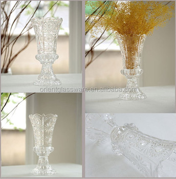 Modern Fashion Carved Crystal Vase Clear Crystal Vase Buy Crystal