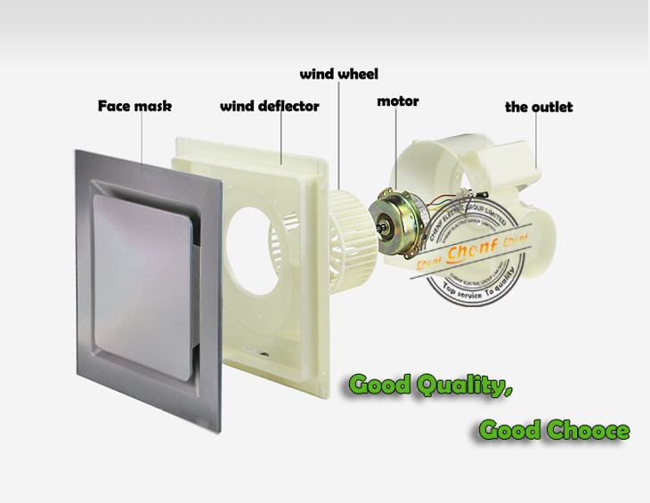 Supply High Quality Small Oem Kitchen Bathroom Exhaust Fan With All Kinds Of Size 8