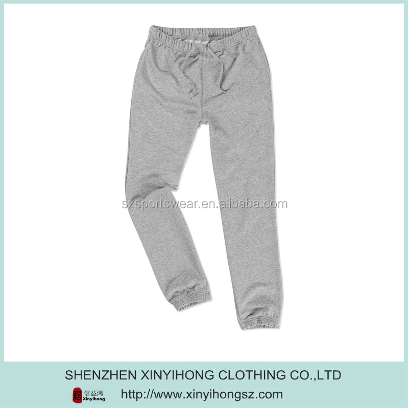 Hot Sales Slim Fit Cotton Jersey Men Knitted Sports Track Pant