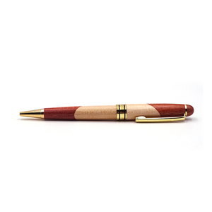 Top Rated Wooden Ballpoint Pen Handcraft Color Matching pen for Promotion