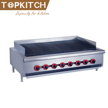 Hoge Kwaliteit AISI 304 Rvs Teller Top <span class=keywords><strong>Gas</strong></span> Barbecue <span class=keywords><strong>Grill</strong></span> Met Lava Rock