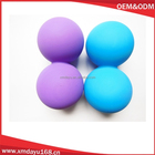 Silicone boule de massage D'arachide, Silicone Double boule De Massage roller ball
