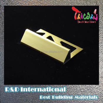 Free Sample Decorative Metal Trim For Furniture Aluminum Tile Trim For Uk Buy Tile Trim