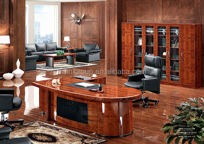 Bisini Furniture Vintage Executive Luxury Office FurnitureQuality