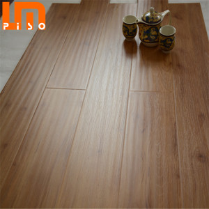 Handscrped Real Wood Grain Surface Non-toxic HDF Industrial Laminate Flooring
