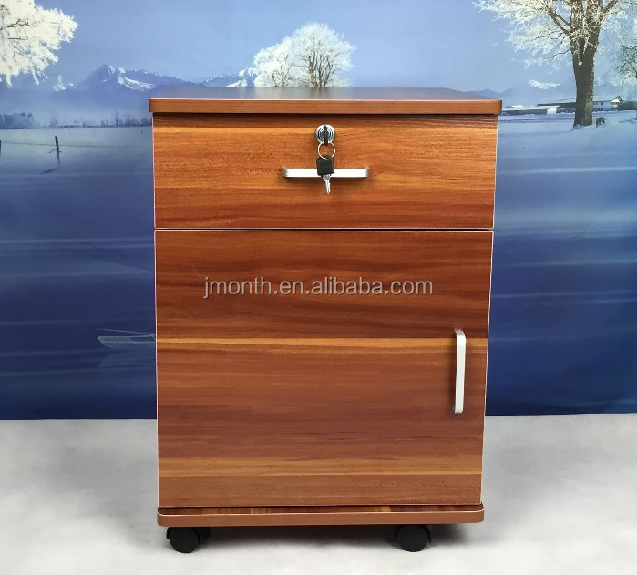 Manufacturers suppliers KD wooden Filing Cabinet / wooden Storage Cabinet / 3 drawer pedestals