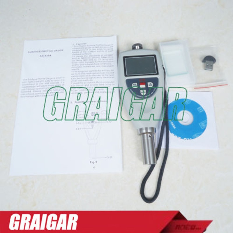 AM Surface Roughness Tester Surface Profile Gauge Meter AR-131A