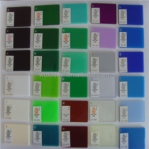 Matte plexiglass 2mm 3mm acrylic frosted sheet color 10mm for building decoration