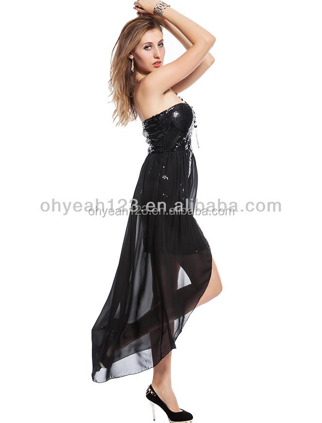 Ladies black nightdress