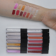 Wholesale matte lip gloss with no labels long lasting private label glitter lip gloss