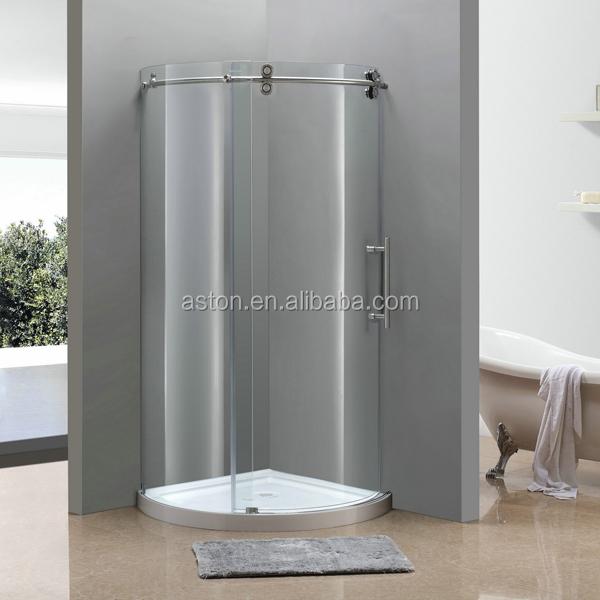 Puertas De Baño Redondas:vidrio cabina de ducha de baño/ducha de esquina redonda-Puertas de
