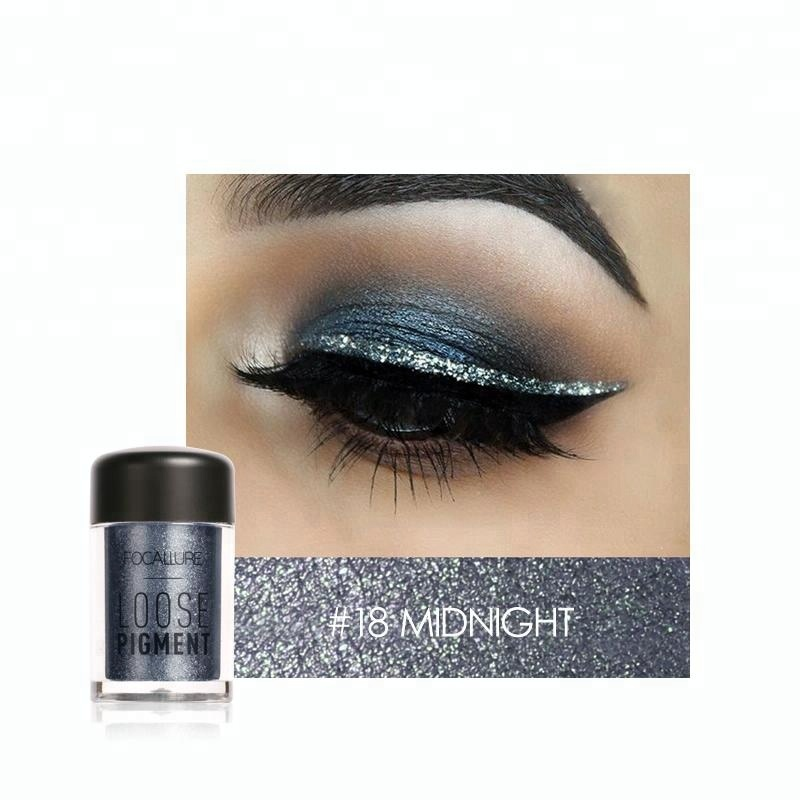 Focallure Face Makeup Glitter Eye Shadow Pigments Loose Powder For