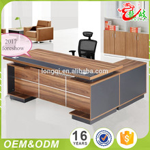 2017 hot sale simple office furniture melamine latest office table designs modern office desk