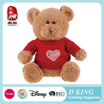 2017 New Design Gift Valentine S Day Stuffed Animals Teddy Bear