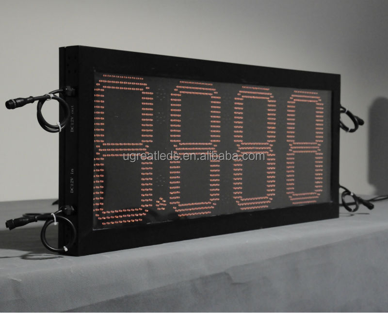 Wireless outdoor IP65 outdoor pricer digital number led display board